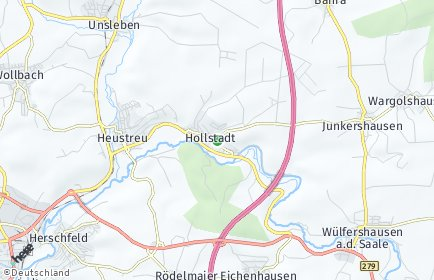 Stadtplan Hollstadt