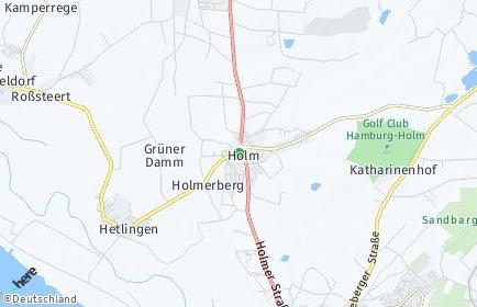 Stadtplan Holm (Kreis Pinneberg)