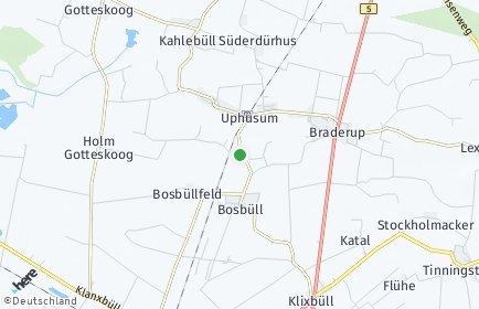 Stadtplan Holm (Nordfriesland)