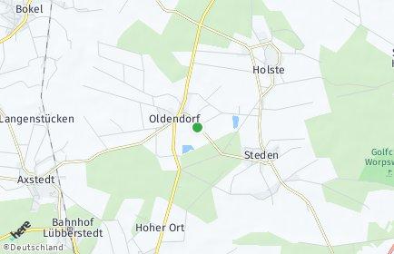Stadtplan Holste