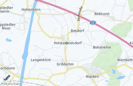Stadtplan Holstenniendorf