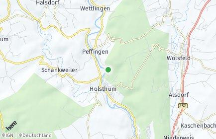 Stadtplan Holsthum