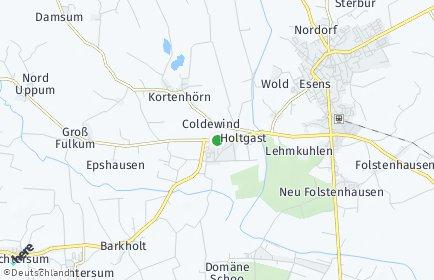 Stadtplan Holtgast