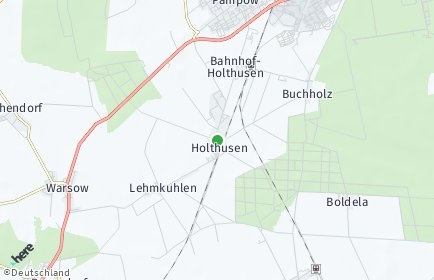 Stadtplan Holthusen