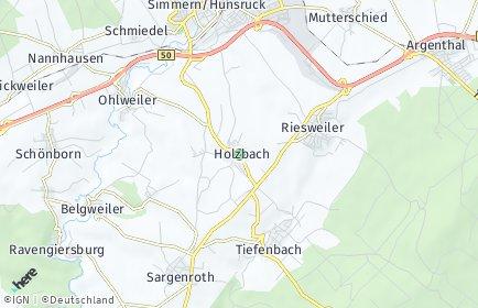 Stadtplan Holzbach