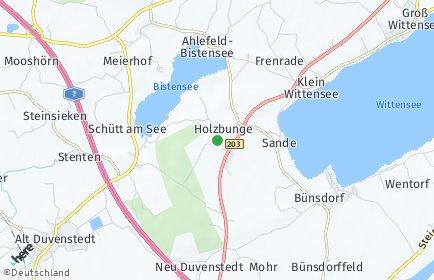 Stadtplan Holzbunge