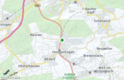 Stadtplan Holzgerlingen
