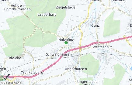 Stadtplan Holzgünz