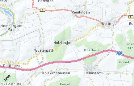 Stadtplan Holzkirchen (Unterfranken)