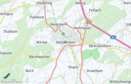 Stadtplan Holzkirchen (Oberbayern)