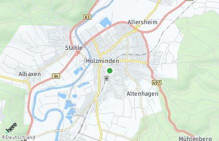 Stadtplan Holzminden