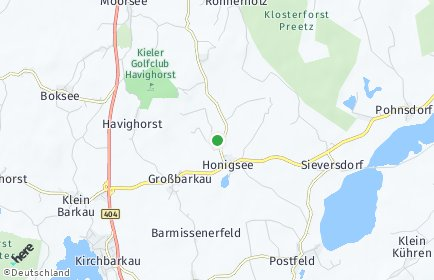 Stadtplan Honigsee