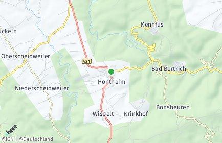 Stadtplan Hontheim