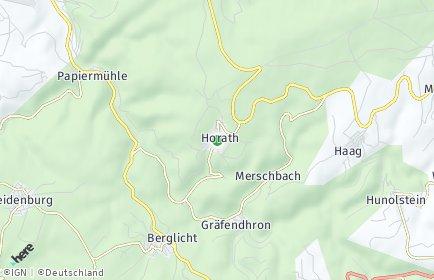 Stadtplan Horath