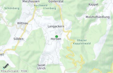 Stadtplan Horben