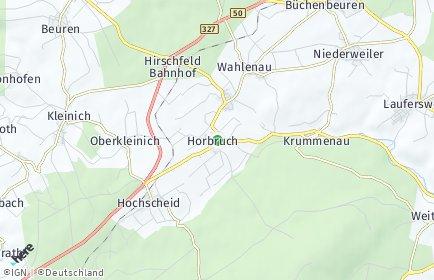 Stadtplan Horbruch