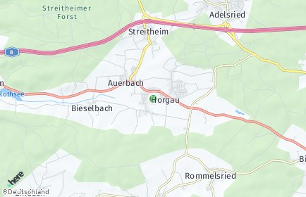 Stadtplan Horgau