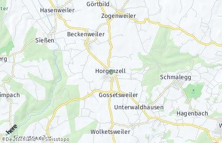 Stadtplan Horgenzell