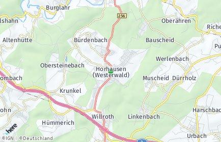 Stadtplan Horhausen (Westerwald)