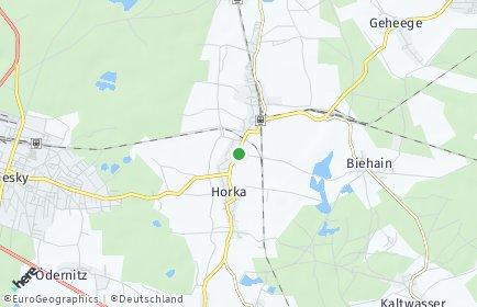 Stadtplan Horka
