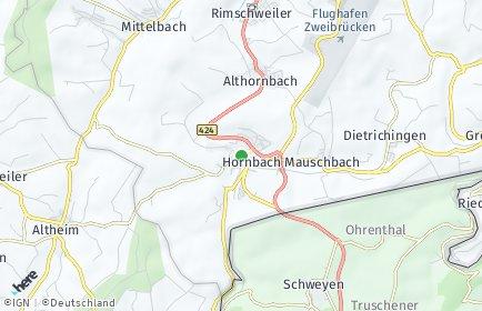 Stadtplan Hornbach