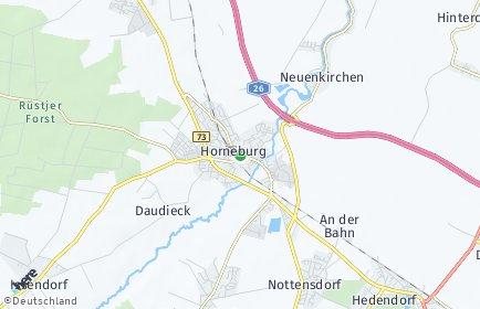 Stadtplan Horneburg