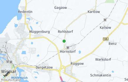 Stadtplan Hornstorf