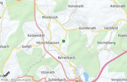 Stadtplan Horperath