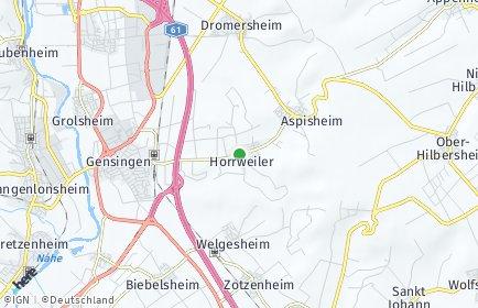 Stadtplan Horrweiler