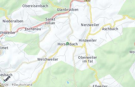 Stadtplan Horschbach