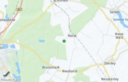 Stadtplan Horst (Lauenburg)