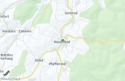 Stadtplan Hosenfeld