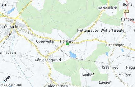 Stadtplan Hoßkirch
