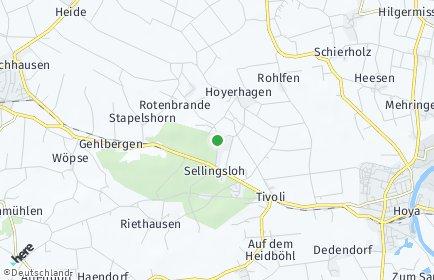 Stadtplan Hoyerhagen