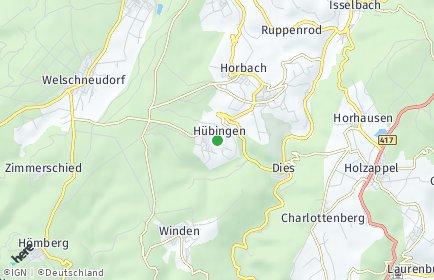 Stadtplan Hübingen