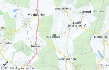 Stadtplan Hüblingen