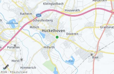 Stadtplan Hückelhoven