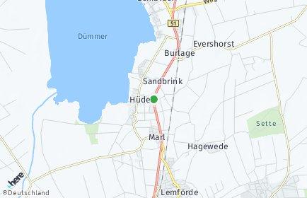 Stadtplan Hüde