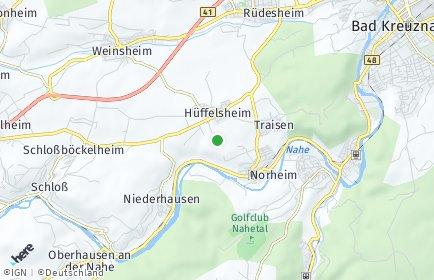 Stadtplan Hüffelsheim