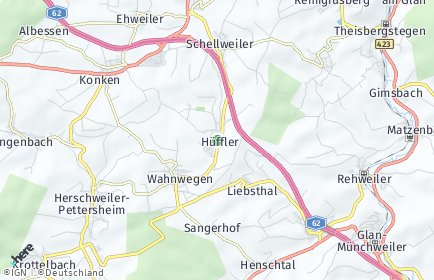 Stadtplan Hüffler