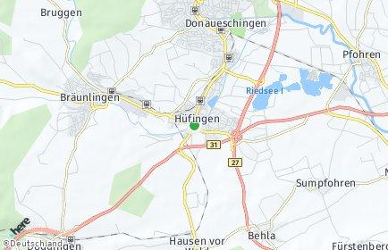 Stadtplan Hüfingen