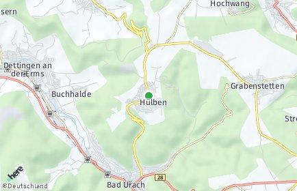 Stadtplan Hülben