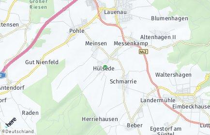 Stadtplan Hülsede