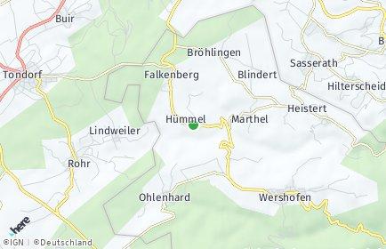 Stadtplan Hümmel