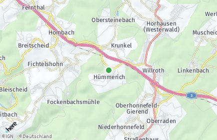 Stadtplan Hümmerich