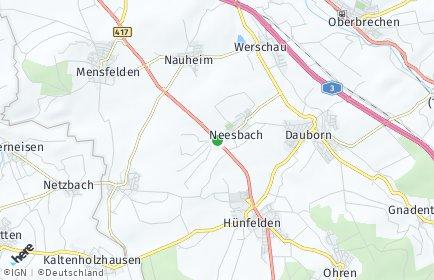 Stadtplan Hünfelden