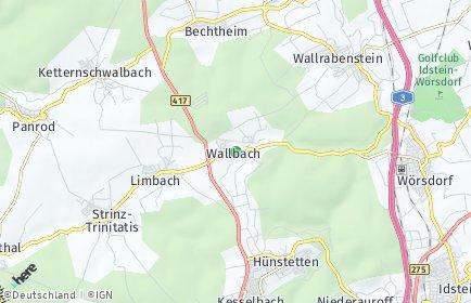 Stadtplan Hünstetten