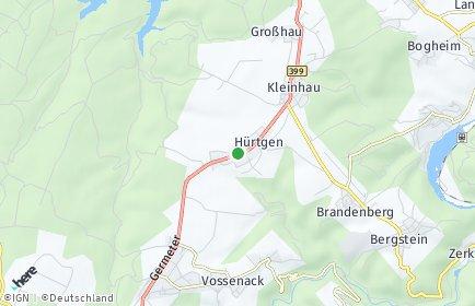 Stadtplan Hürtgenwald