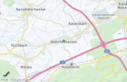 Stadtplan Hütschenhausen