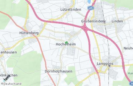 Stadtplan Hüttenberg